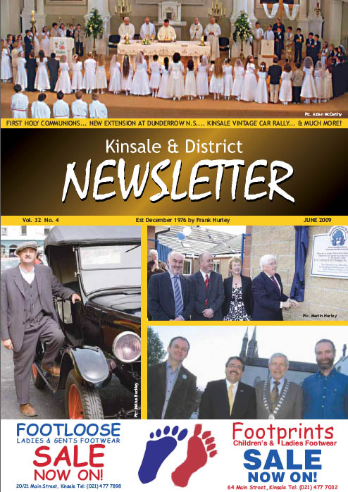 Kinsale Newsletter Issue